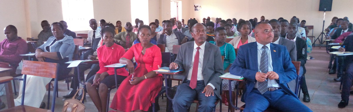 Bishop Stuart University hosts National Council for Higher Education senstisation workshop for all Academic Registrars, Bursars, and students representatives from all private and public universities in Western Uganda.