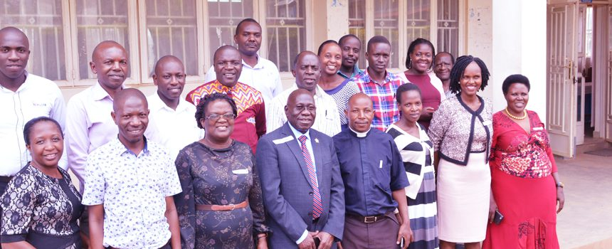 Bishop Stuart University staff undergo training on grant writing