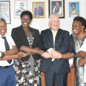 Collaboration between Bishop Stuart University & PUM Netherlands senior experts
