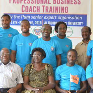 Bishop University Staff trained as coaches by PUM Netherlands experts