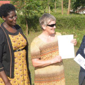 Bishop Stuart University hands over Staff houses at Rwakishakizi Health Centre II to Mbarara Municipality