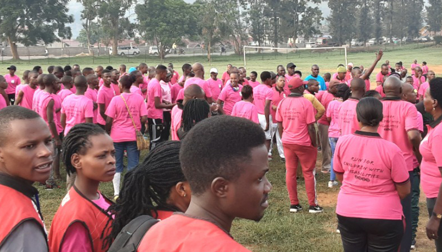 Bishop Stuart University Charity Run for Children with Club Foot ends successfully