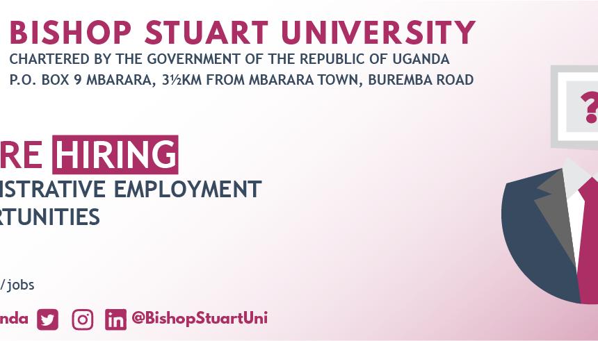 Advert: Administrative employment opportunities