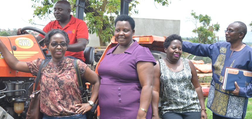 NAADS impressed with agriculture projects at Bishop Stuart University