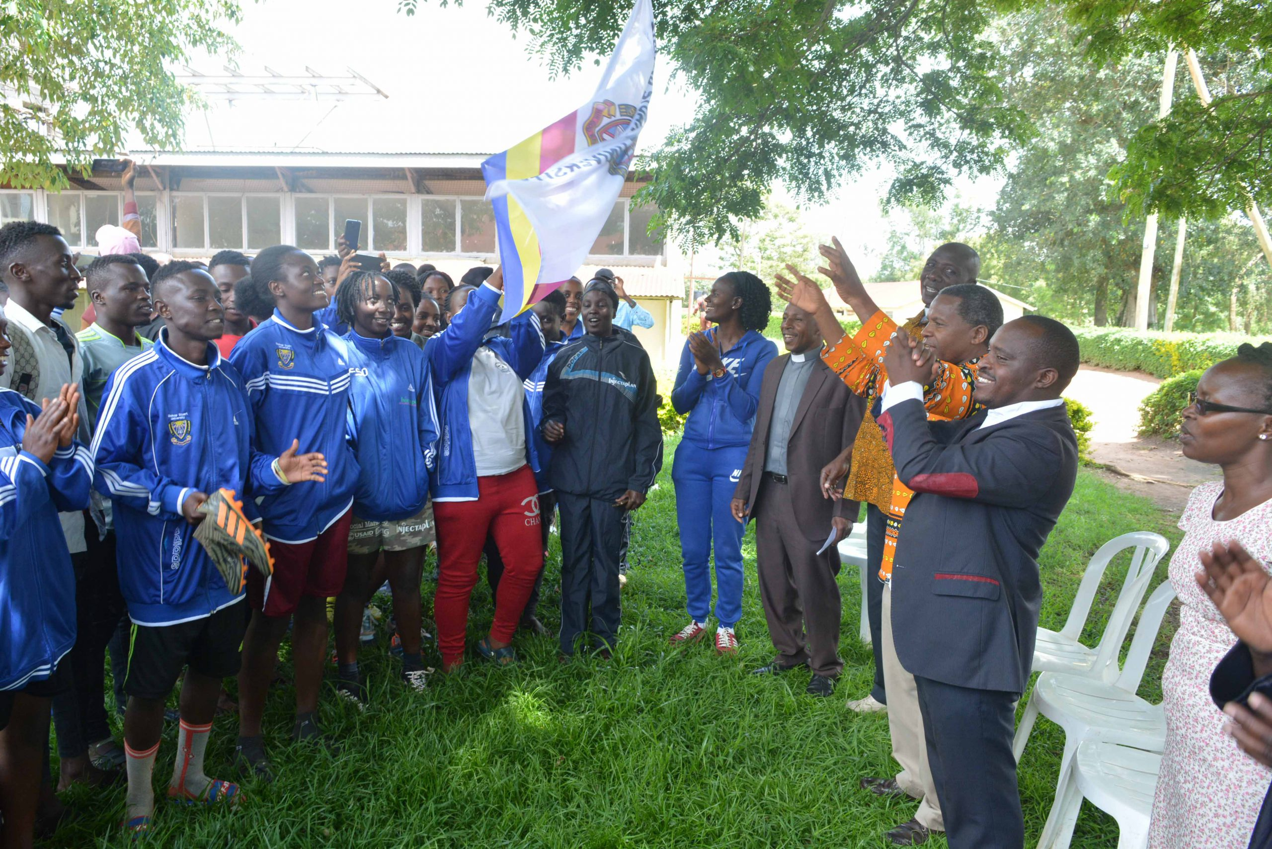 University Sports students team flagged off for 18th Inter-University games competition