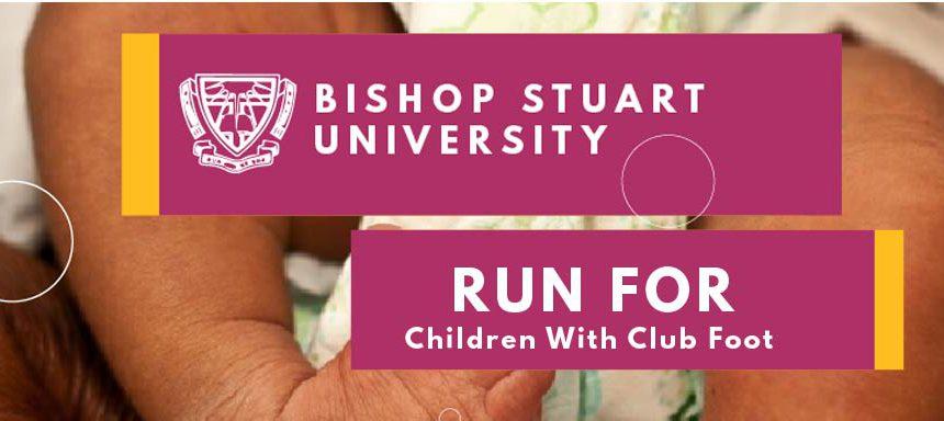 Children with Club Foot Run