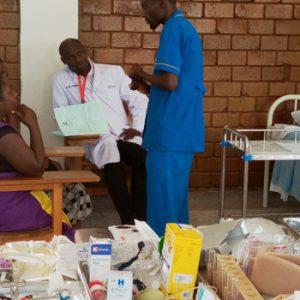 Bishop Stuart University Nursing students during UNMEB examinations