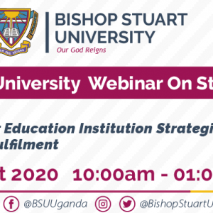 Second Bishop Stuart University webinar on strategic planning