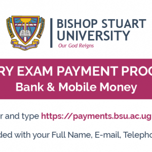 Bachelor of Laws Pre-entry Examination Payment Procedures Academic Year 2020/2021