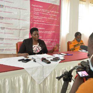 Prof. Maud Kamatenesi Mugisha, VC - Press Conference