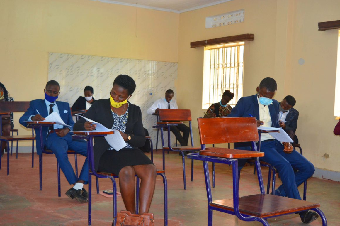 Bachelor of Laws pre-entry examination for May intake Academic Year 2020/2021