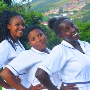 Call for applications- Outdoor Photo: Nursing students pose for a photo 01 June 2021