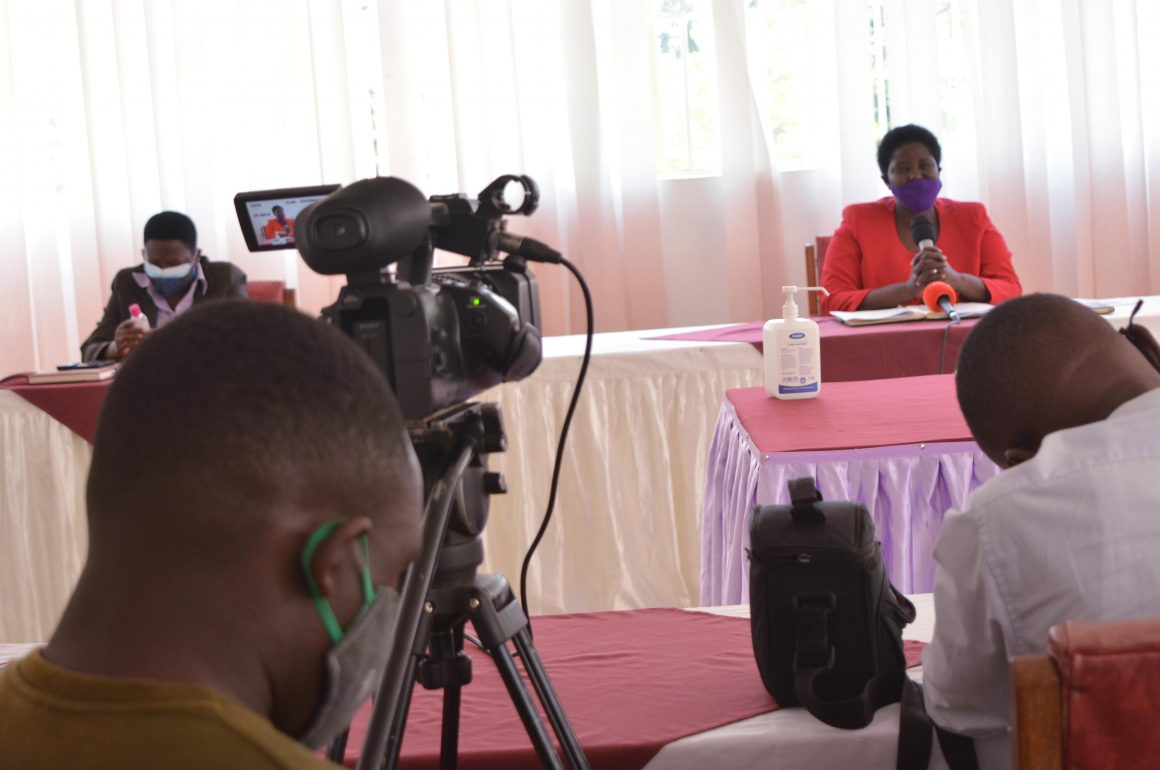 VC addressing press on eLearning 19th July 2021