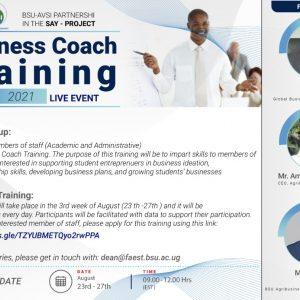 Business Coach Training (ToT) - BSU Staff