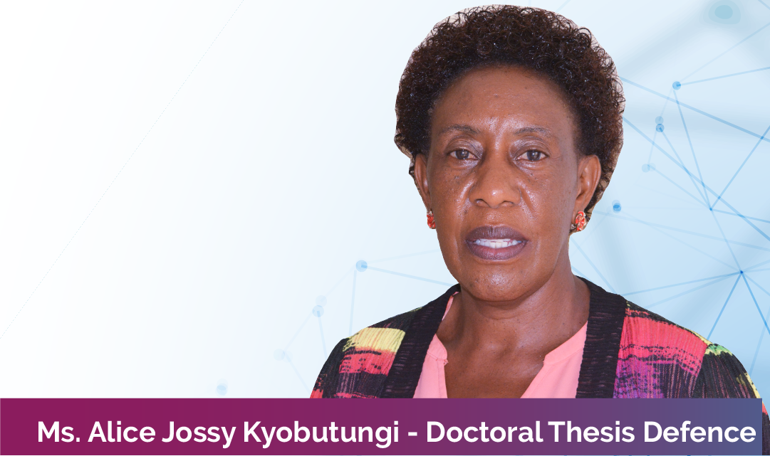 Jossy Alice PhD Defence