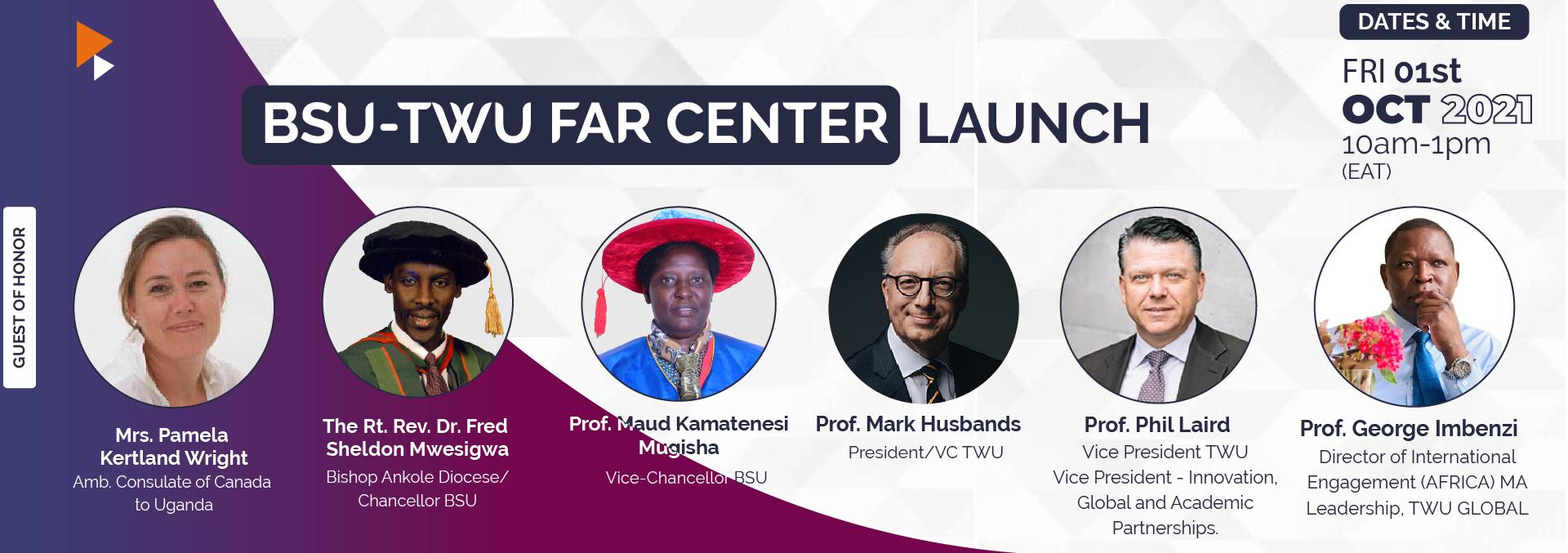 BSU TWU FAR Center Launch Event-01-10-2021