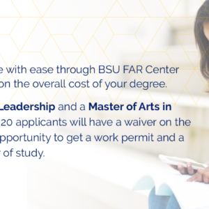 Study in Canada while at BSU