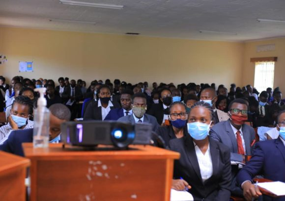 BSU Law students in a public lecture at the Faculty of Law 2020